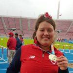 Javiera Bravo gana medalla de oro en el atletismo de los Juegos Suramericanos de la Juventud