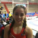 Javiera Ortega ganó medalla de plata en la lucha olímpica de los Juegos Suramericanos de la Juventud