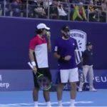 Julio Peralta y Santiago González debutaron con un triunfo en el Masters 1000 de París-Bercy
