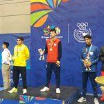 Nicolás Burgos ganó medalla de oro en el tenis de mesa de los Juegos Suramericanos de la Juventud