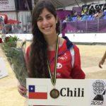 Bochista Sabrina Polito denunció el robo de sus implementos a un mes del Panamericano