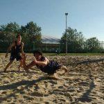 Duplas Schilling/Frazzonni y Vallejos/Izquierdo ganaron una nueva fecha de la Liga U21 de Volleyball Playa