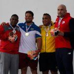 Andrés Ayub se quedó con la medalla de bronce en la lucha olímpica de los Juegos Bolivarianos 2017