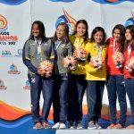 Catalina Aros y Marieli Urriola ganan medalla de bronce en los clavados de los Juegos Bolivarianos 2017