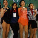 Chile sumó sus primeras medallas en el Sudamericano de Patinaje Artístico sobre Hielo