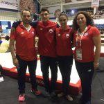 Fabián Sepúlveda y Javiera Rubilar suman medallas para la gimnasia chilena en los Juegos Bolivarianos 2017