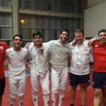 Equipo masculino de florete entrega un nuevo oro para Chile en los Juegos Bolivarianos 2017
