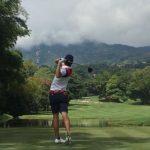 Joaquín Niemann marcha tercero tras el segundo día del golf en los Juegos Bolivarianos 2017