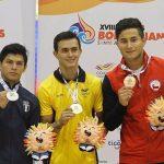 Joel Álvarez y Franchesca Santi ganan medalla de bronce en la gimnasia artística de los Juegos Bolivarianos 2017