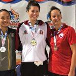 Kristel Köbrich obtuvo una medalla de bronce en la natación de los Juegos Bolivarianos 2017