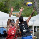 Primos Grimalt avanzan a cuartos de final del volleyball playa en los Juegos Bolivarianos 2017