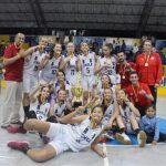 Chile hace historia tras titularse campeón invicto del Sudamericano Sub 14 de Básquetbol Femenino
