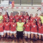 Chile obtuvo el cuarto lugar en los Sudamericanos Cadete Masculino y Femenino de Handball