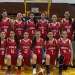 Chile logra un gran triunfo ante Brasil en la segunda fecha del Sudamericano Sub 14 de Básquetbol Femenino