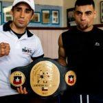 Robinson Laviñanza y Ramón Contreras se enfrentan por el título nacional de peso super gallo