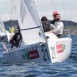 """Velero chileno """"Black Sails"""" ganó el Sudamericano J/70 en Algarrobo"""