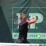 Fernanda Brito avanza en singles y dobles del ITF de Lambare