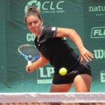 Fernanda Brito avanza en singles y dobles del ITF de Guayaquil