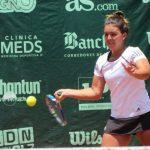 Fernanda Brito avanza en singles y dobles en el Hammamet Open