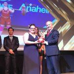 María Fernanda Valdés y Alberto Abarza fueron premiados como los mejores deportistas del año en la Gala Olímpica del COCh