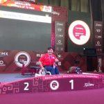 Marion Serrano finaliza cuarta en el Mundial de Pesas Paralimpicas con nuevo récord panamericano