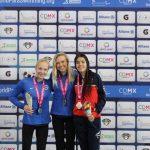 Valentina Muñoz suma el segundo bronce para Chile en el Mundial de Natación Paralímpica