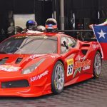 Benjamín Hites ocupó el lugar 13 en el primer día del Ferrari Challenge