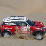 Boris Garafulic terminó en el puesto 12 de la sexta etapa del Dakar