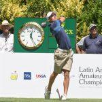 Joaquín Niemann y Tomás Gana se ubican segundos tras nueva jornada del Latin America Amateur Championship
