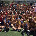 Con gran éxito se realizó el primer encuentro nacional de mini voleyball