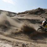 Pablo Quintanilla sube al segundo lugar de la tabla general de las motos en el Dakar