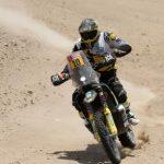 Pablo Quintanilla pierde posiciones en el Dakar debido a una caída en la quinta etapa