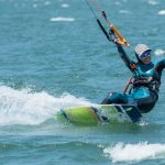 Paula Villarroel e Ítalo Agurto destacaron en primera fecha del Kite Surf Tour by Royal Guard