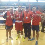 Selección Chilena de Boxeo obtuvo tres medallas en la Copa Independencia de República Dominicana
