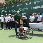 Alexander Cataldo se tituló campeón del Wheelchair Barranquilla Open