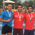 Atletas nacionales realizan gran actuación en torneos Grand Prix de Argentina