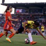 Chile y Colombia empatan sin goles en partido amistoso previo a la Copa América Femenina