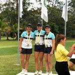 Chile sumo una plata y un bronce por equipos en el Sudamericano Juvenil de Golf