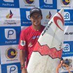 Cristóbal Montecinos ganó la categoría Junior de la segunda fecha del Alas Latin Tour de Surf