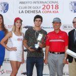 Joaquín Niemann cierra su carrera como aficionado en Chile ganando el Abierto de La Dehesa