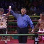 Juan Pablo Meza debutó en el boxeo profesional con un triunfo