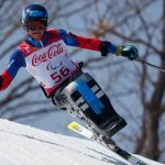 Nicolás Bisquertt sufrió una caída en la prueba Súper Combinada de los Juegos Paralímpicos de Invierno