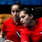 Paulina Vega y Judith Morales se titularon campeonas de dobles en el Latinoamericano de Tenis de Mesa