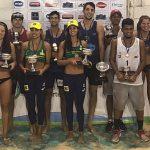 Primos Grimalt ganan medalla de plata en la sexta fecha del Circuito Sudamericano de Volleyball Playa