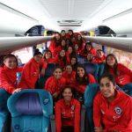 La Roja Femenina llegó este sábado a la cuarta región para disputar la Copa América