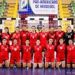 Chile cayó ante Brasil en la penúltima jornada del Panamericano Junior Femenino de Handball
