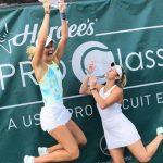 Alexa Guarachi se tituló campeona de dobles del ITF 80K de Dothan