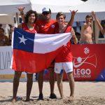 Gaspar Lammel y Vicente Droguett jugarán el Mundial U19 de Volleyball Playa