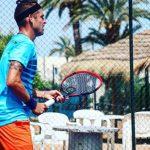 Juan Carlos Sáez se quedó con el vicecampeonato de dobles del Futuro 9 de España