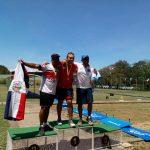 Ricardo Soto, Alejandro Martín y Fernanda Lagos ganan medalla de oro en la Copa Merengue de Tiro con Arco